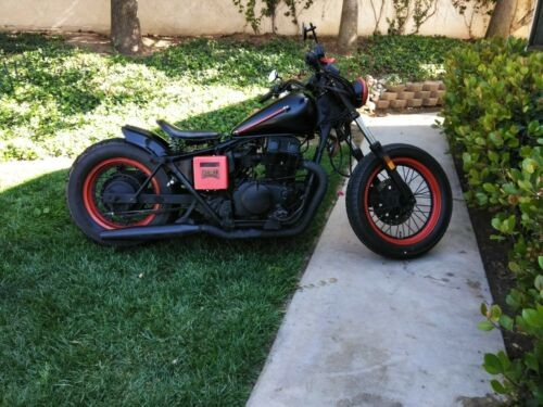 1987 Custom Built Motorcycles Bobber Black craigslist