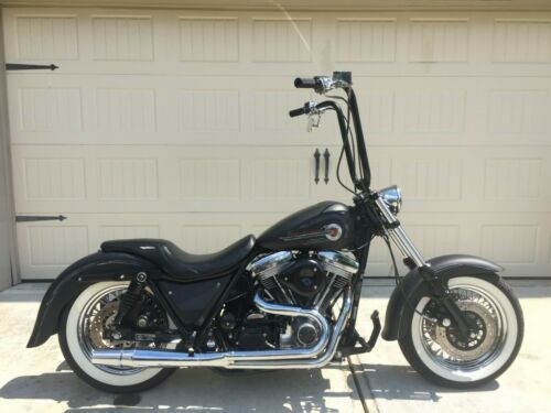 1987 Harley-Davidson FXR Black for sale craigslist