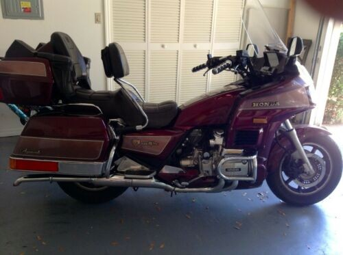 1987 Honda Gold Wing Burgundy for sale craigslist