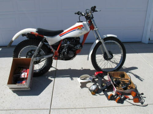 1987 Honda TLR-200 Reflex for sale