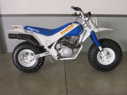 1987 Honda TR 200 Fat Cat white/blue for sale craigslist