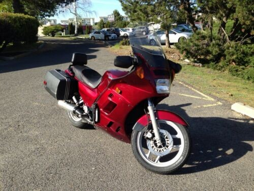 1987 Kawasaki Concours GTR1000 Red for sale craigslist