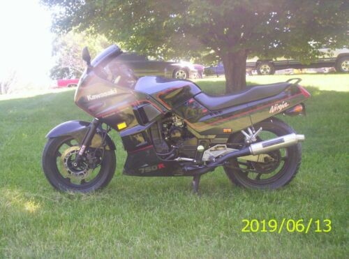 1987 Kawasaki Ninja Black for sale craigslist