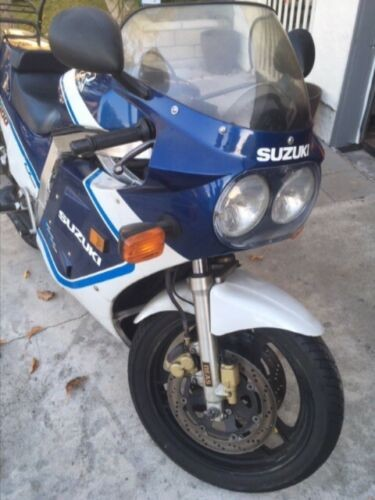 1987 Suzuki GSX-R Blue for sale