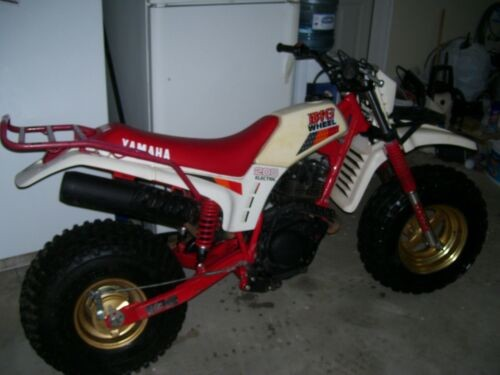 1987 Yamaha bw200 big wheel bw Red for sale