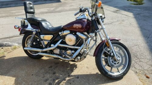 1988 Harley-Davidson FXR Burgundy for sale craigslist