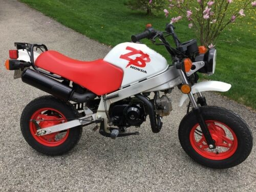 1988 Honda ZB50 Black for sale craigslist