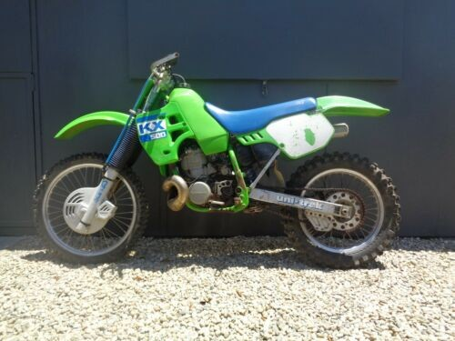 1988 Kawasaki KX Green for sale