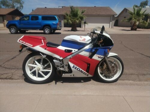 1989 Honda VFR 400 Red/White/Blue craigslist
