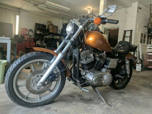 1991 Harley-Davidson Sportster Orange for sale craigslist