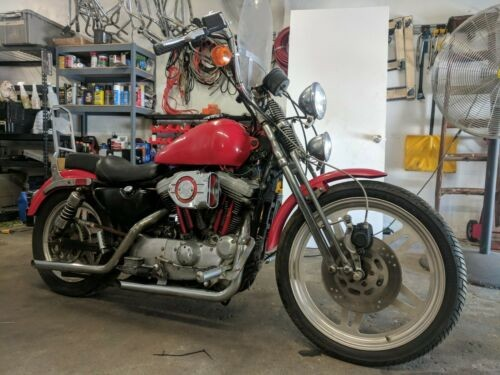 1991 Harley-Davidson Sportster Red for sale