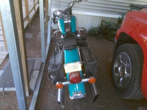 1991 Harley-Davidson soft tail Teal for sale craigslist