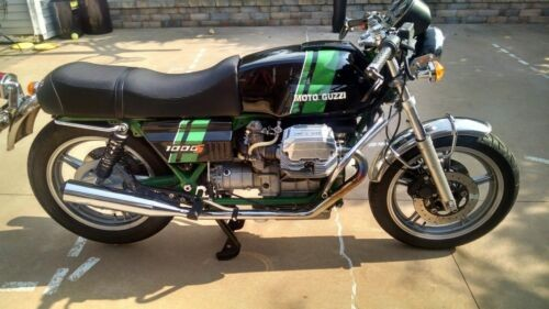 1991 Moto Guzzi 1000s Green for sale