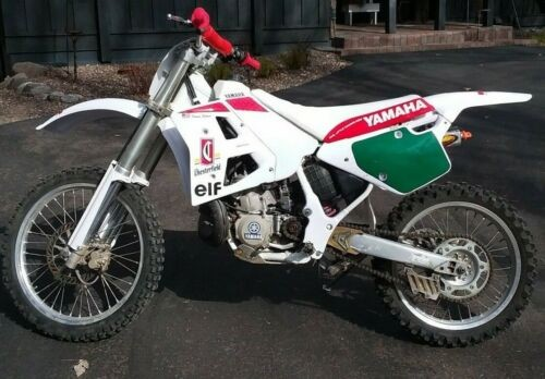 1991 Yamaha YZ white for sale