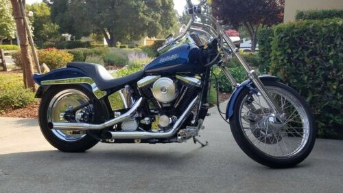 1992 Harley-Davidson FXSTC Blue for sale