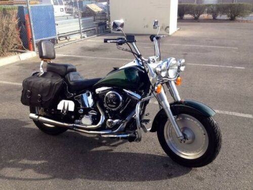 1992 Harley-Davidson Softail Custom Green/Ghost Flames for sale craigslist