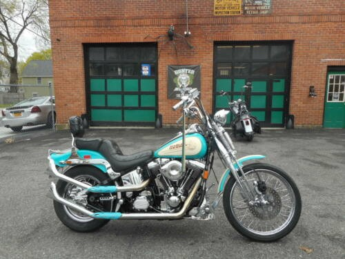 1992 Harley-Davidson Softail Teal for sale craigslist