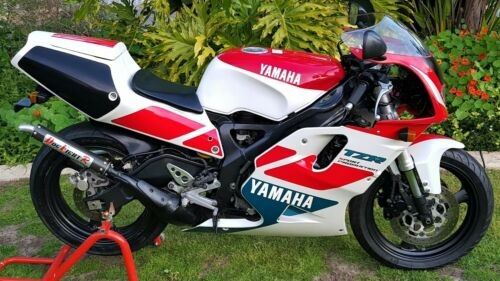 1992 Yamaha TZR250R-SP Silky white / Vivid red cocktail for sale craigslist
