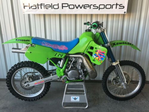 1993 Kawasaki KX Green for sale craigslist