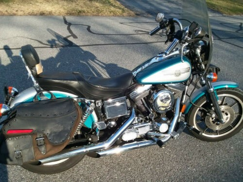 1995 Harley-Davidson Dyna Teal for sale craigslist