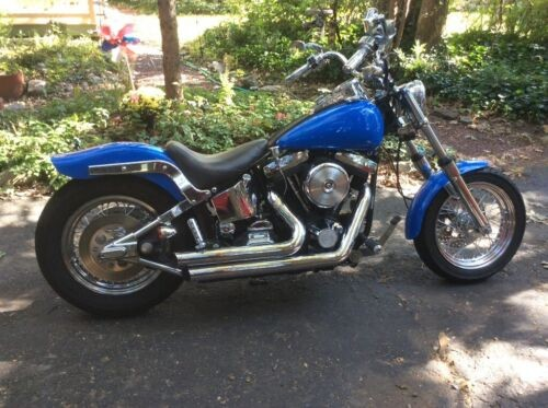 1995 Harley-Davidson Softail Blue for sale