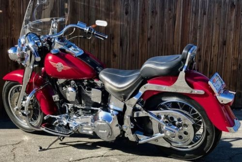 1995 Harley-Davidson Softail Red for sale craigslist