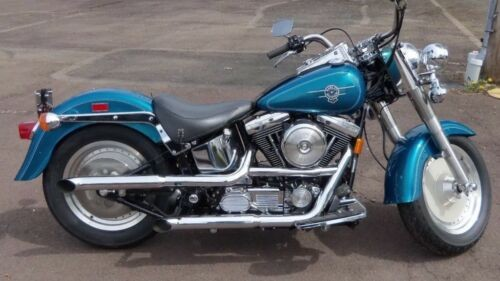 1995 Harley-Davidson Softail Teal metallic blue craigslist