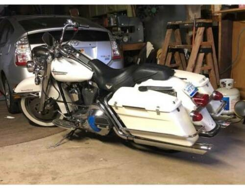 1996 Harley-Davidson Road King White for sale craigslist