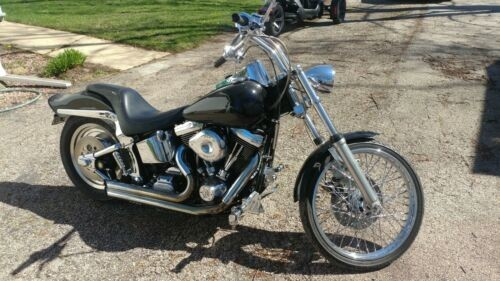 1996 Harley-Davidson Softail Black for sale
