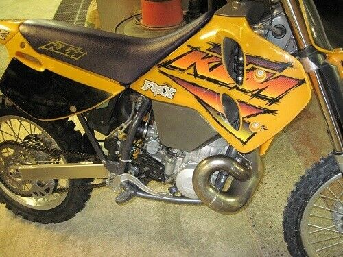 1996 KTM MXC Yellow Gray Blue for sale