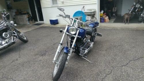 1997 Custom Built Motorcycles Custom Blue craigslist