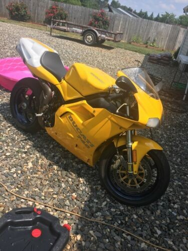 1997 Ducati Supersport Yellow for sale craigslist