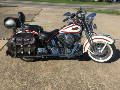 1997 Harley-Davidson Softail White/ red for sale craigslist