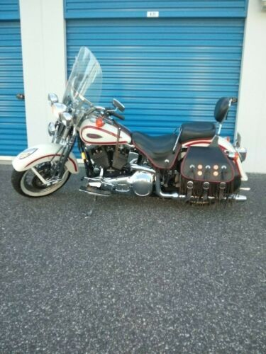 1997 Harley-Davidson Softail White w Red Trim craigslist