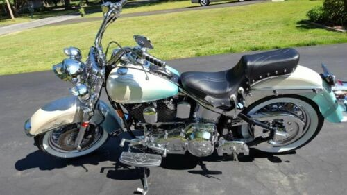 1997 Harley-Davidson Softail White/Teal Blend for sale