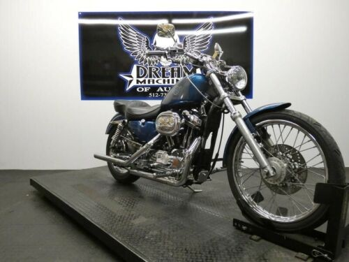 1997 Harley-Davidson XL1200C - Sportster Custom 1200C -- Blue for sale craigslist