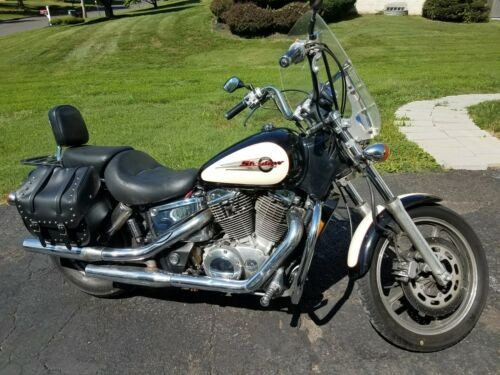 1997 Honda Shadow Black with cream highlights for sale craigslist