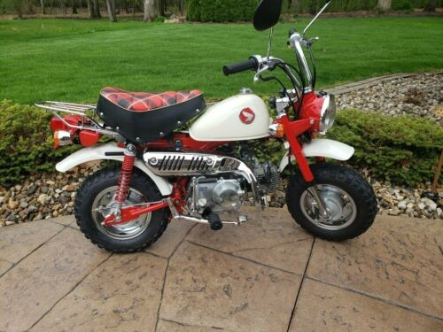 1997 Honda Z50J Red for sale craigslist