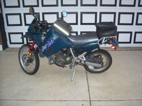 1997 Kawasaki KLR Green for sale craigslist