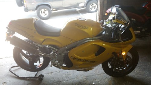 1997 Triumph Daytona Yellow for sale craigslist