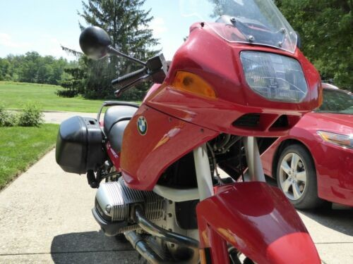 1998 BMW R-1100 RS -- Red for sale craigslist