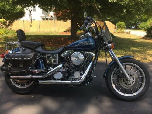 1998 Harley-Davidson Dyna Blue for sale craigslist
