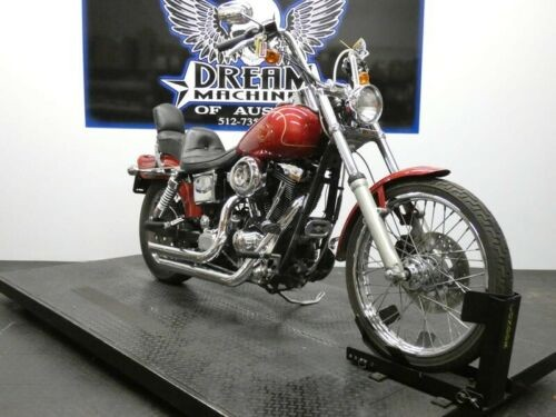 1998 Harley-Davidson Dyna -- Red for sale craigslist