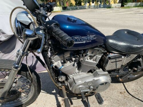 1998 Harley-Davidson Sportster Blue for sale