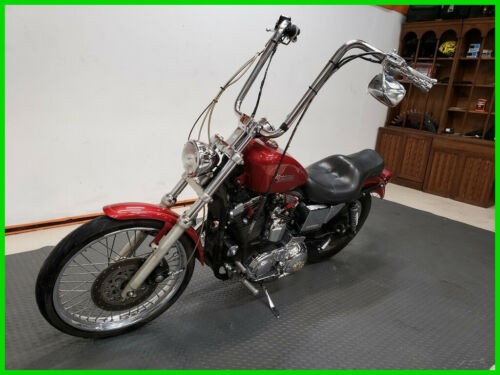 1998 Harley-Davidson Sportster XL 1200 Custom Red for sale