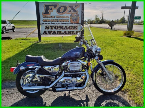1998 Harley-Davidson XL1200 Sportster Sinister Blue for sale