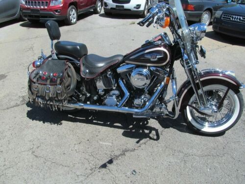 1998 Harley-Davidson heritage springer Burgundy for sale craigslist