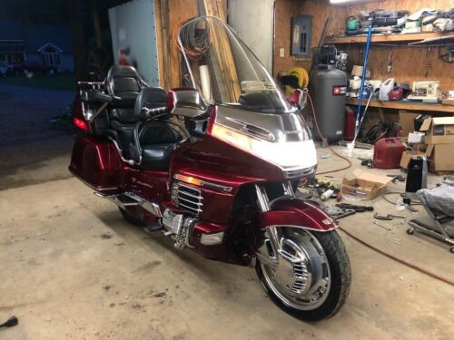 1998 Honda Gold Wing Red for sale craigslist