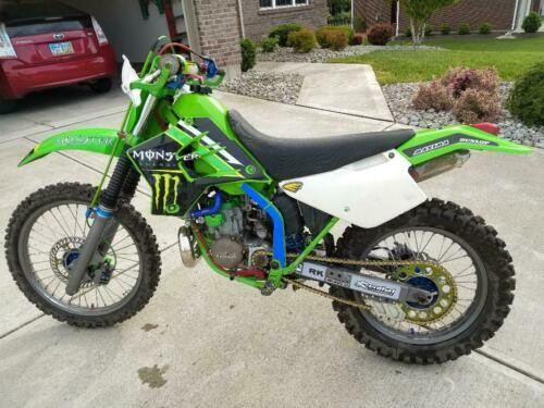 1998 Kawasaki KDX Green for sale craigslist