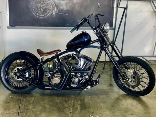 1999 Custom Built Motorcycles Chopper Black for sale craigslist